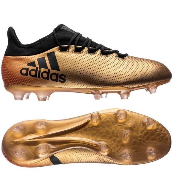 Adidas Men s X 17.2 FG Soccer Cleats US 11 M Gold 651e2ae49